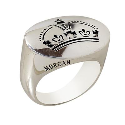 Morgan Marka Kraliyet Model Modern Bayan Gümüş Yüzük DX614