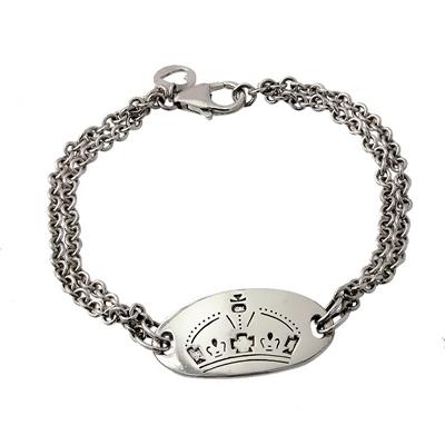 Morgan Marka Modern Bayan Gümüş Bileklik DX410