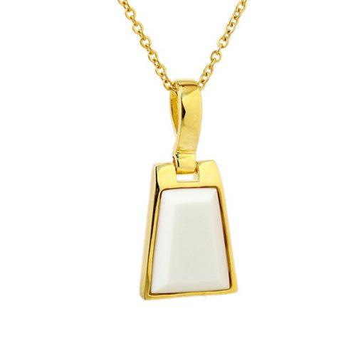 Altın Kaplama Modern Bayan Kolye AX394