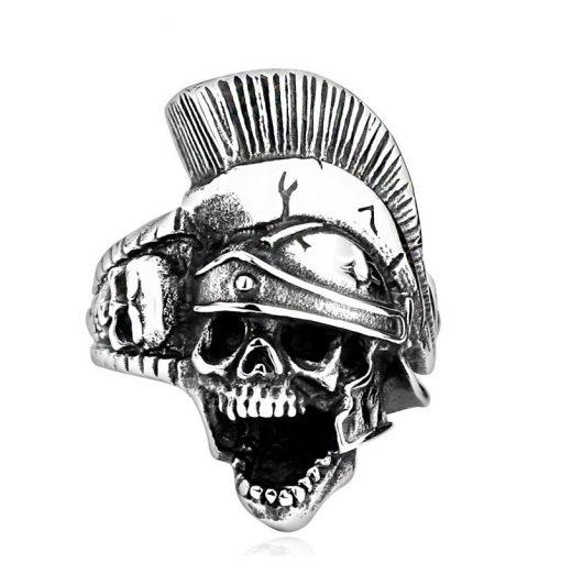 Kurukafa Romalı Savaşı Modern Erkek Yüzük BX663