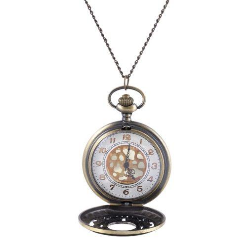 Retro Model Uzun Bayan Kolye Saat BX626