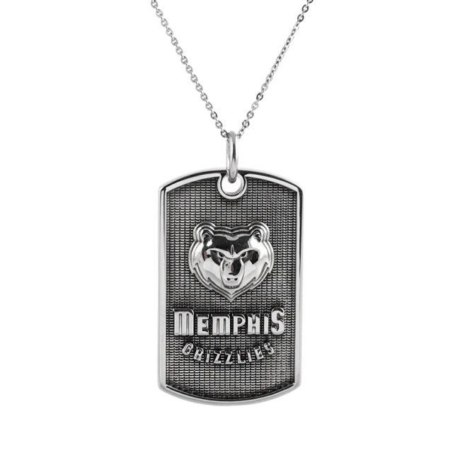 Memphis Grizzlies Erkek Kolye AX651