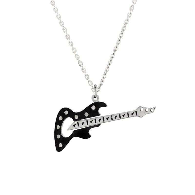 Gitar Model Modern Kolye EX408