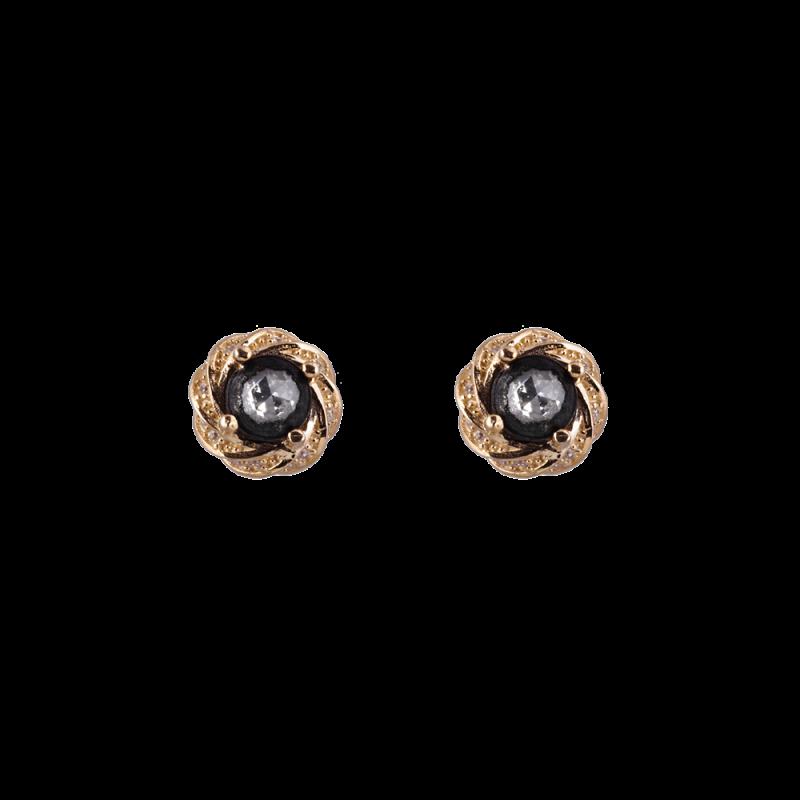 Elmas Model Gümüş Kadın Küpe GG052